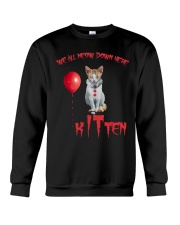 Cat Halloween Kitten Crewneck Sweatshirt thumbnail