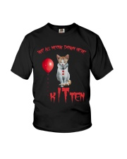 Cat Halloween Kitten Youth T-Shirt thumbnail