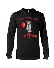 Cat Halloween Kitten Long Sleeve Tee thumbnail