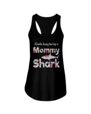Mommy Shark  Ladies Flowy Tank thumbnail