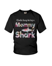Mommy Shark  Youth T-Shirt thumbnail