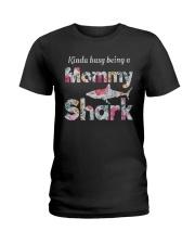 Mommy Shark  Ladies T-Shirt thumbnail