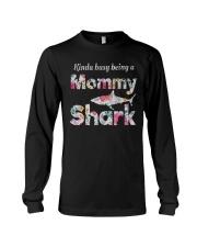 Mommy Shark  Long Sleeve Tee thumbnail