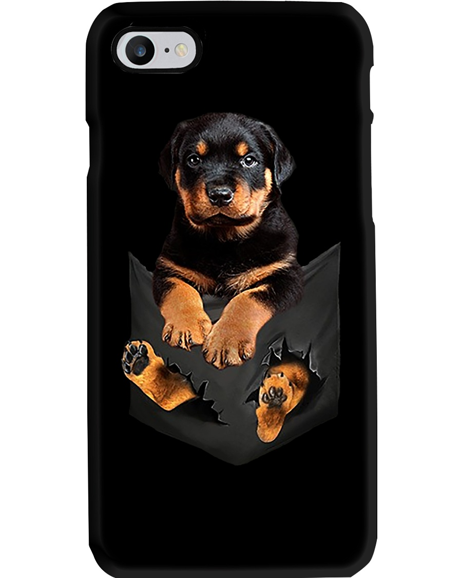 Rottweiler Pocket Phone Case