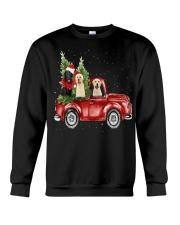 Labrador Christmas Car Crewneck Sweatshirt front