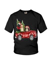 Labrador Christmas Car Youth T-Shirt thumbnail