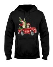 Labrador Christmas Car Hooded Sweatshirt thumbnail