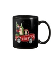 Labrador Christmas Car Mug thumbnail