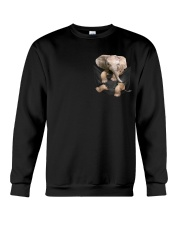 Elephant Pocket  Crewneck Sweatshirt thumbnail