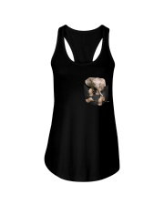 Elephant Pocket  Ladies Flowy Tank thumbnail