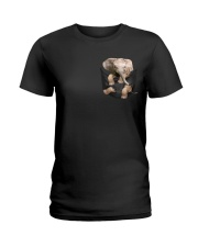 Elephant Pocket  Ladies T-Shirt thumbnail