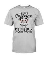 Pitbull and Caffeine Classic T-Shirt front