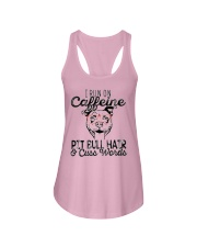 Pitbull and Caffeine Ladies Flowy Tank tile