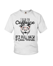 Pitbull and Caffeine Youth T-Shirt tile