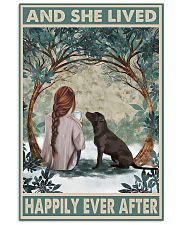 Labrador Happily Ever After 11x17 Poster front
