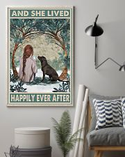 Labrador Happily Ever After 11x17 Poster lifestyle-poster-1