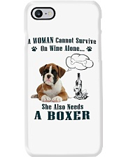 Woman Needs A Boxer Phone Case tile