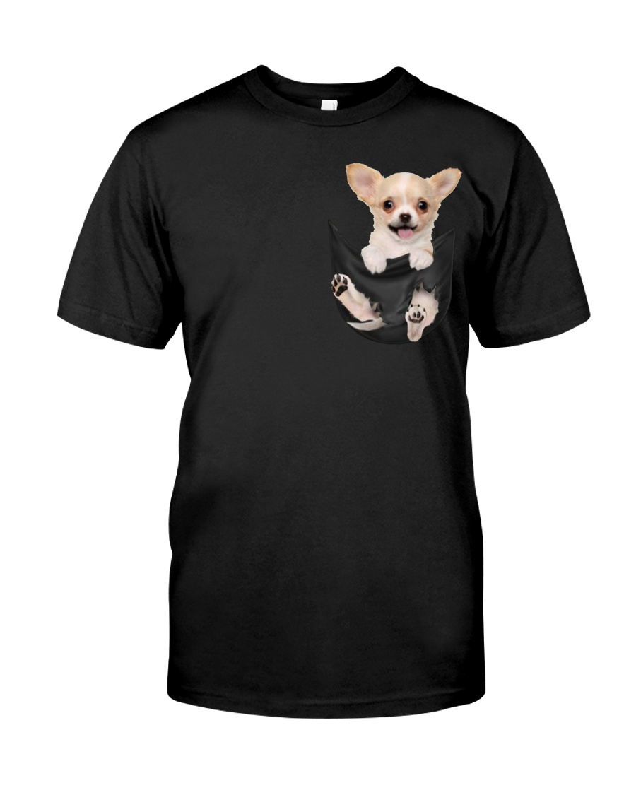 Chihuahua in Pocket Classic T-Shirt