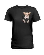 Chihuahua in Pocket Ladies T-Shirt thumbnail