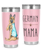 GERMAN SHEPHERD MAMA 20oz Tumbler front