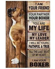 Boxer Partner 11x17 Poster front