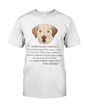 From Your Labrador Classic T-Shirt front