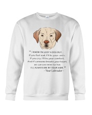 From Your Labrador Crewneck Sweatshirt thumbnail
