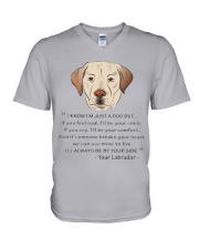 From Your Labrador V-Neck T-Shirt thumbnail