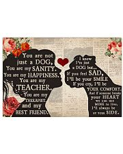 Boxer Girl Therapist Best Friend  17x11 Poster front