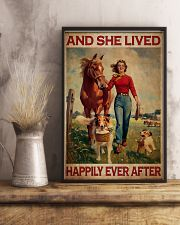 Horse And She Lived Happily Ever After 11x17 Poster lifestyle-poster-3