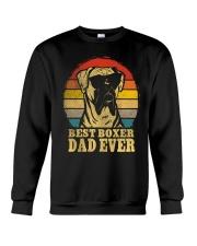 Best Boxer Dad  Crewneck Sweatshirt thumbnail