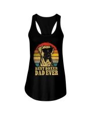 Best Boxer Dad  Ladies Flowy Tank thumbnail