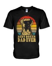 Best Boxer Dad  V-Neck T-Shirt thumbnail