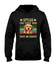 Golden Speak No Choice Hooded Sweatshirt thumbnail