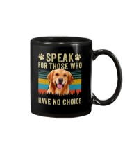 Golden Speak No Choice Mug thumbnail