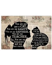 Cat Girl Therapist Best Friend 17x11 Poster front