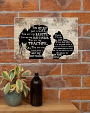 Cat Girl Therapist Best Friend 17x11 Poster poster-landscape-17x11-lifestyle-23