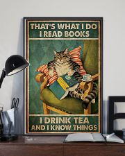 Cat That's What I Do 11x17 Poster lifestyle-poster-2