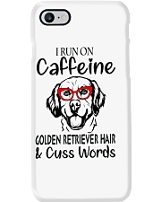 Golden Retriever caffeine Phone Case thumbnail