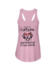 Golden Retriever caffeine Ladies Flowy Tank thumbnail