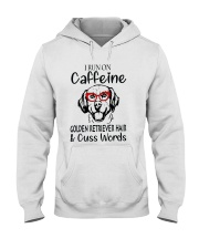Golden Retriever caffeine Hooded Sweatshirt thumbnail