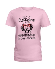 Golden Retriever caffeine Ladies T-Shirt thumbnail
