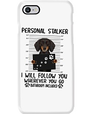 Dachshund Stalker Phone Case thumbnail