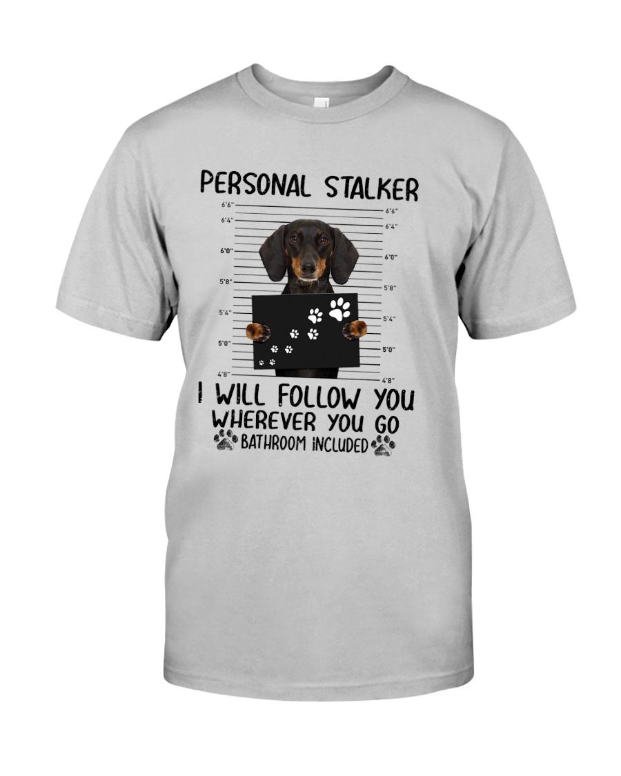 Dachshund Stalker Classic T-Shirt