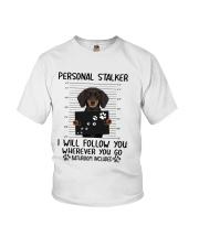 Dachshund Stalker Youth T-Shirt thumbnail