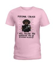 Dachshund Stalker Ladies T-Shirt thumbnail