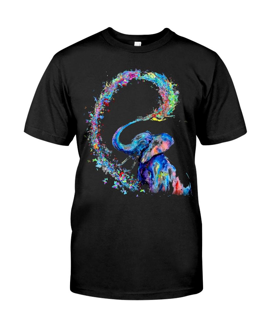Elephant Colors Classic T-Shirt