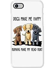 Dogs Make me Happy Phone Case thumbnail