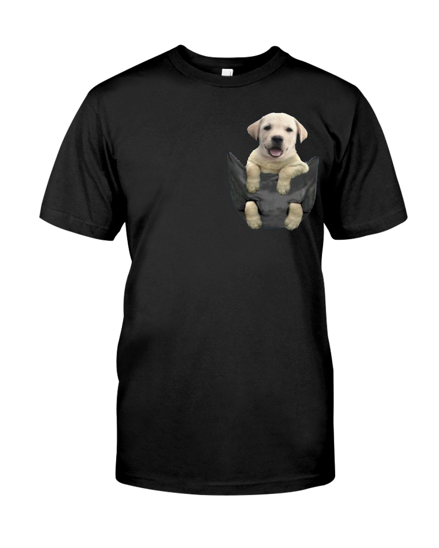 Labrador in Pocket Classic T-Shirt