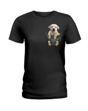 Labrador in Pocket Ladies T-Shirt thumbnail